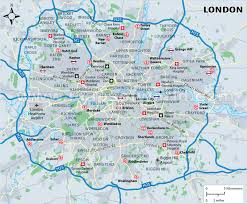 Serviced London Areas